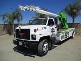 GMC C6500 S/A Boom Truck,