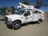 2004 Ford F550 S/A Bucket Truck,