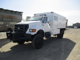 2006 Ford F650 XL S/A Chipper Truck,