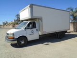 2011 Chevrolet Express 3500 S/A Box Truck,