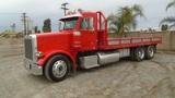 Peterbilt 378 T/A Flatbed Truck,