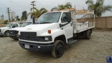 2004 Chevrolet C5500 S/A Flatbed Utility Truck,