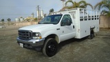 2003 Ford F550 SD S/A Utility Flatbed Truck,