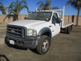 2007 Ford F450 XL SD S/A Flatbed Truck,