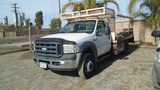 2006 Ford F450 Flatbed Utility Truck,