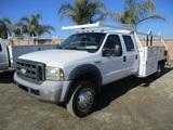 2006 Ford F450 XL SD Crew-Cab Utility Truck,