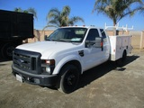 2008 Ford F350 XL SD Extended-Cab Utility Truck,