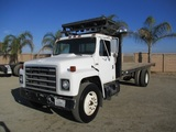 International S1700 S/A Flatbed Truck,