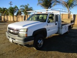 2006 Chevrolet 3500 Flatbed Truck,