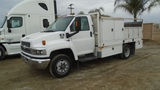 2008 Chevrolet C4500 S/A Utility Truck,