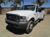 2004 Ford F450 XL SD S/A Utility Service Truck,