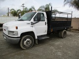 2007 GMC C4500 S/A Utility Truck,