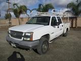 2004 Chevrolet 2500HD Crew-Cab Utility Truck,