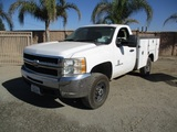 2008 GMC 2500HD Utility Truck,