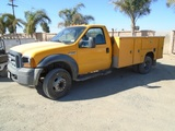 2006 Ford F550 XL SD Utility Truck,