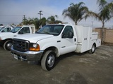 2001 Ford F550 SD Utility Truck,