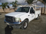 2004 Ford F350 Utility Truck,