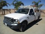 2003 Ford F350 XL Utility Truck,