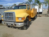 Ford F800 S/A Utility Truck,