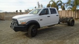 2012 Dodge Ram 5500 HD Crew-Cab Cab & Chassis,