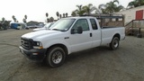 2003 Ford F250 Extended-Cab Pickup Truck,