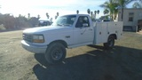 Ford F250 Utility Truck,