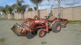 Kubota B2410 Utility Ag Tractor,