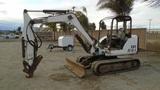 2006 Bobcat 341G Mini-Hydraulic Excavator,