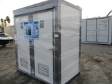 Unused Bastone Mobile Double Bathroom Unit,
