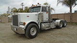 2002 Peterbilt 379 T/A Heavy Haul Truck Tractor,