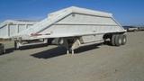 Load King 182S T-1 T/A Bottom Dump Trailer,