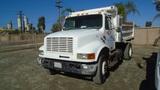 International 4200 S/A Dump Truck,