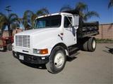 International 4700 S/A Dump Truck,