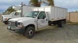 2003 Ford F550 XL SD Debris Dump Truck,