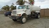 2001 International 4800 S/A Water Truck,