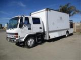 Isuzu FSR Crew-Cab COE S/A Landscape Box Truck,