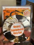 New Unused Heavy Equipment 24-Key Set,