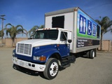 2001 International 4700 S/A Box Truck,