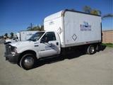 2003 Ford F550 S/A Box Truck,