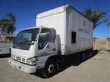 2007 Isuzu NQR S/A COE Box Truck,