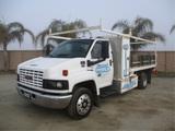 2003 GMC C5500 S/A Flatbed Dump Truck,