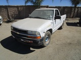 2001 Chevrolet S10 Pickup Truck,