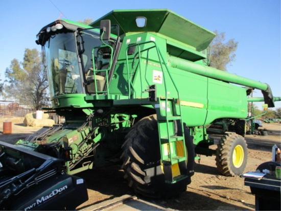 2006 John Deere 9660 STS Combine,