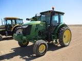 2015 John Deere 6105D Ag Tractor,