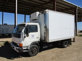 Nissan UD1400 S/A COE Reefer Truck,