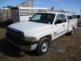 2001 Dodge Ram 2500 Extended-Cab Utility Truck,