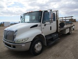 2004 International 4300 S/A Flatbed Truck,