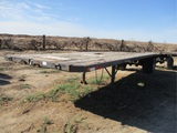 TUF Boy Flatbed Hay Trailer,