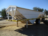 Trailmobile S/A Grain Hopper Trailer,