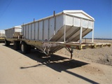 Utility Grain Hopper Convertible Trailer,